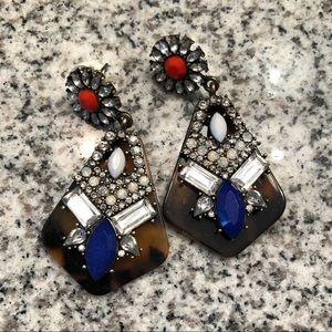 Tortoise Acrylic Earrings